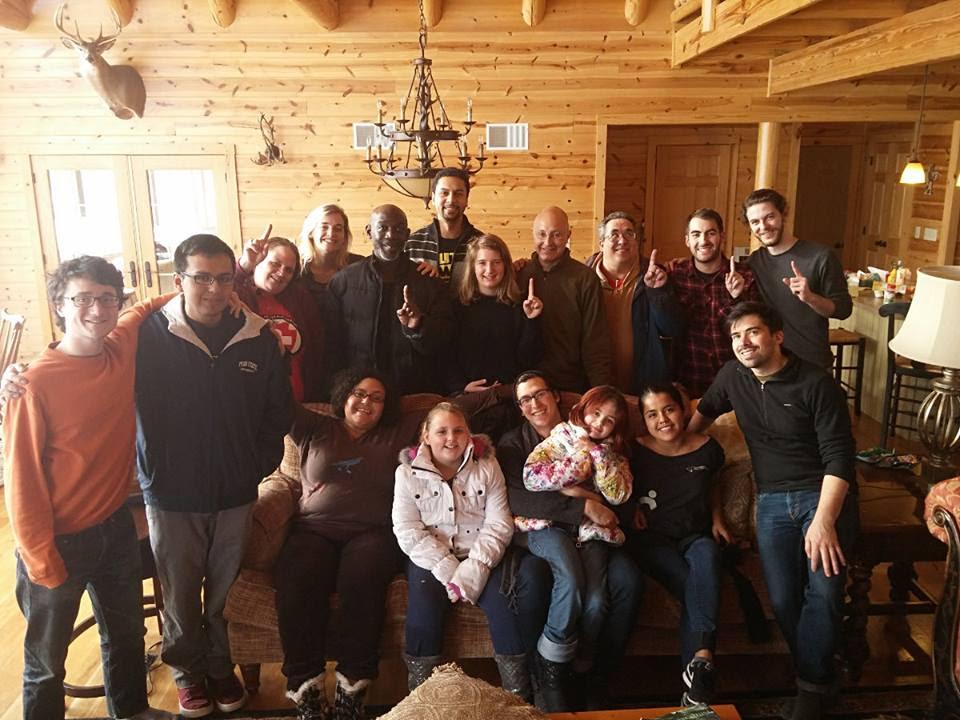 Winter Retreat 2016 group shot
