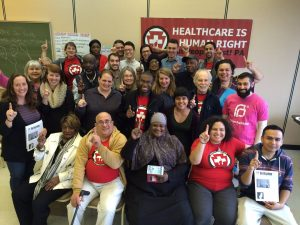Put People First members gather at the April 2016 Leadership Institute
