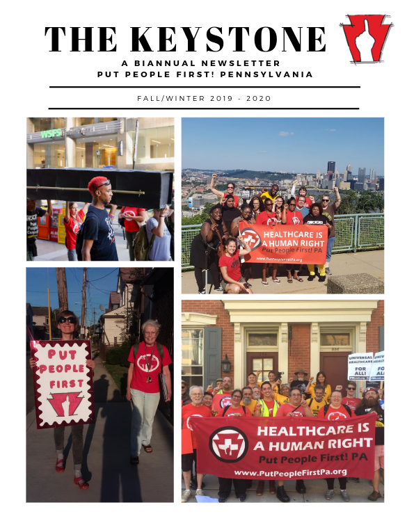 Keystone 2019/2020 Cover page with photos of members