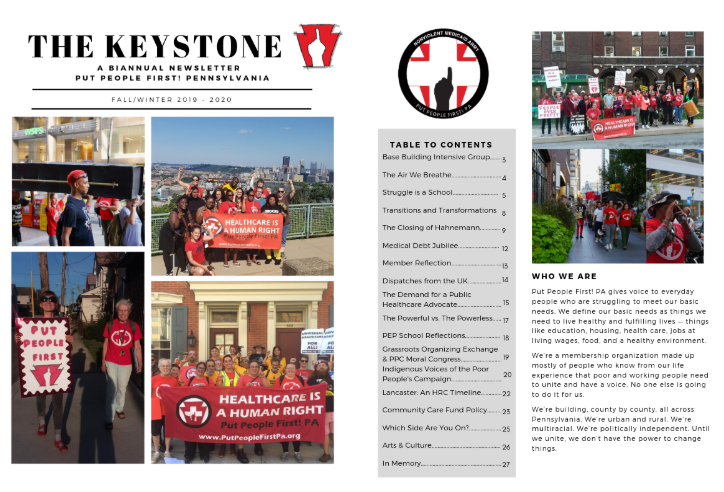 First two pages of Fall/Winter KEYSTONE 2019/2020