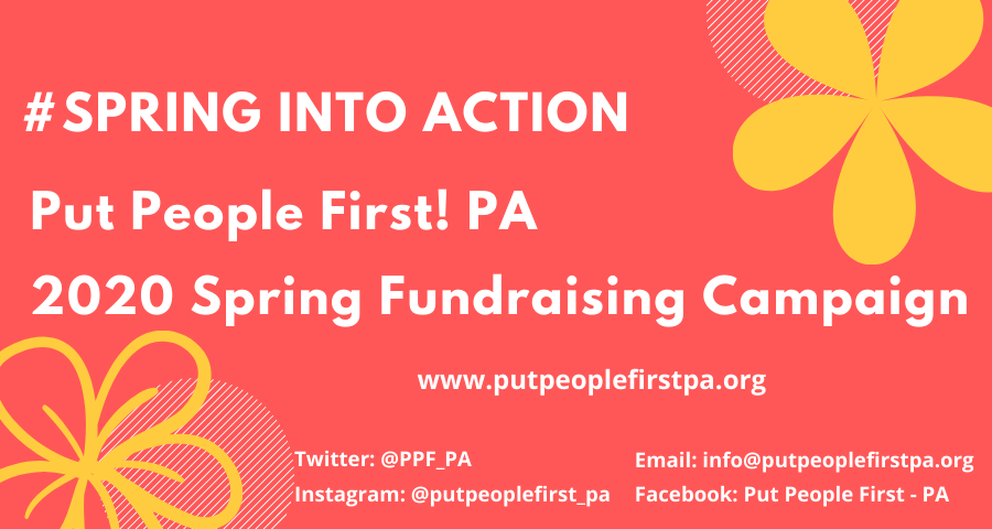 Spring into Action Spring Community Care Fundraising Campaign