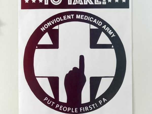 "PPF-PA poster from the 2019 Membership Assembly: ""You only get what you're organized to take"""
