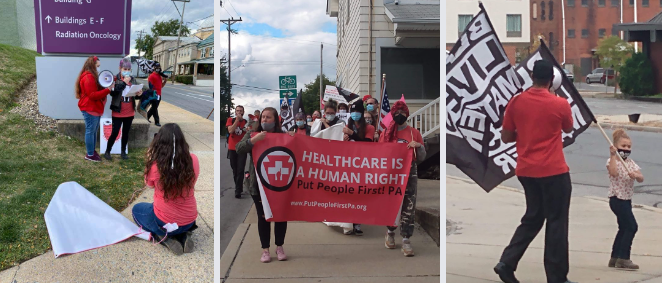 Photos of the Medicaid Marches